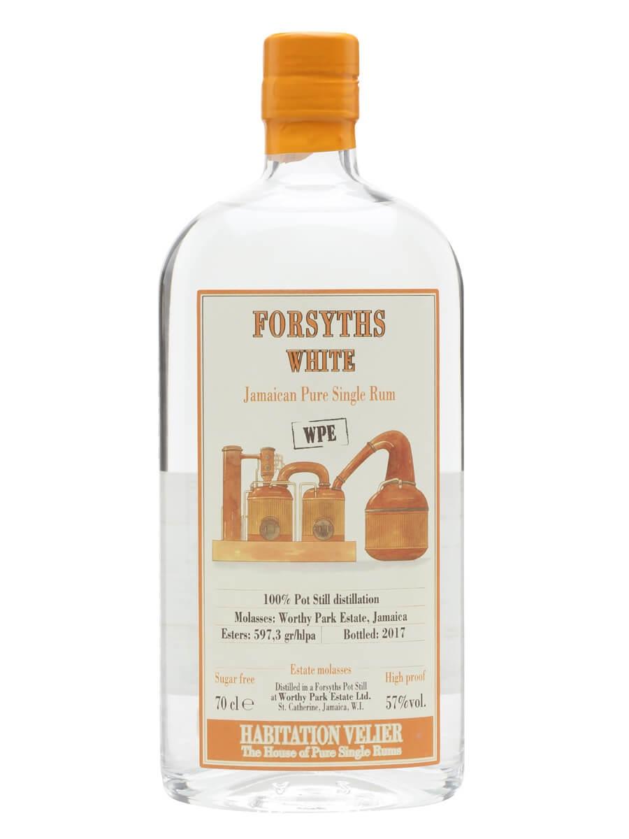 Forsyths WPE White Rum 2017 / Habitation Velier