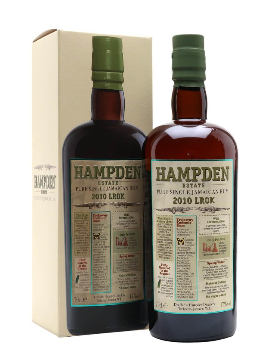 Hampden Estate 2010 LROK Rum