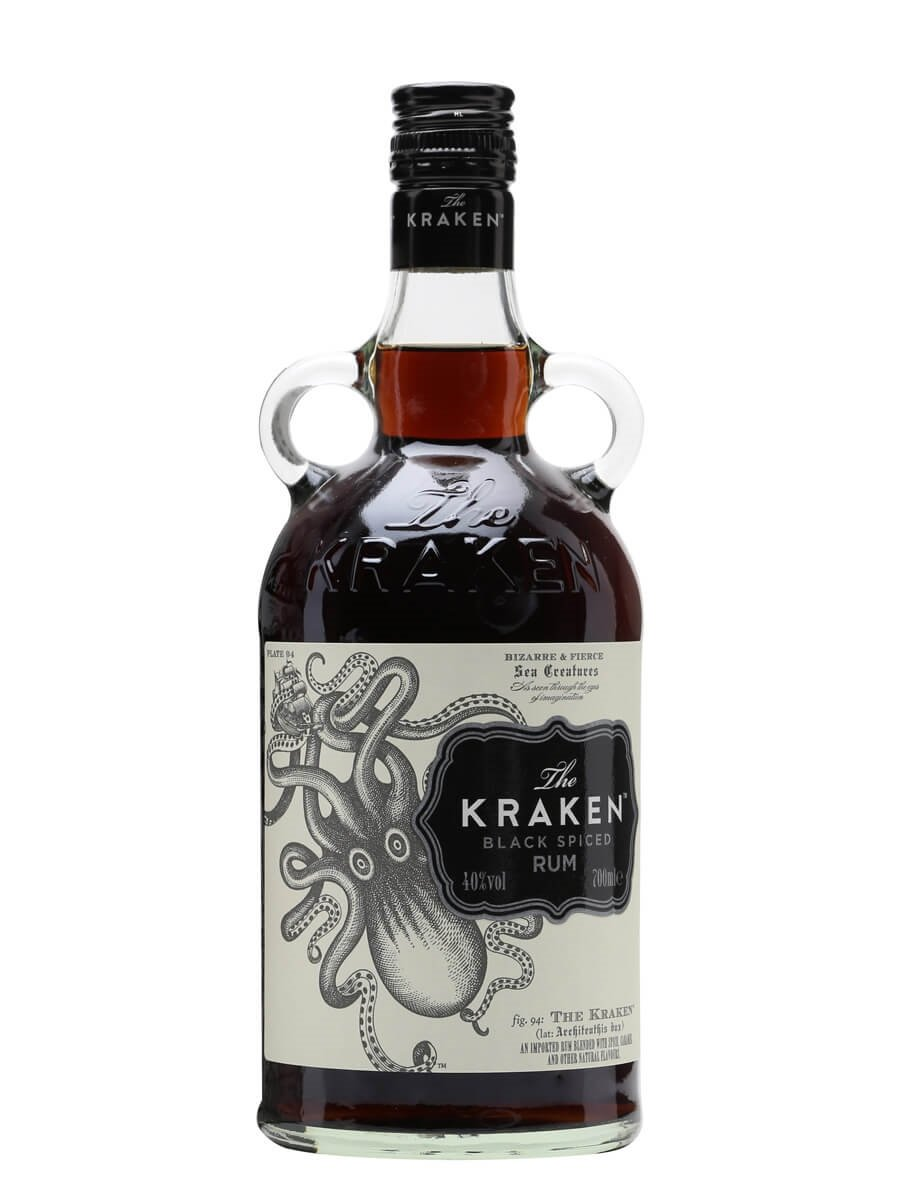 Kraken black spiced rum the whisky exchange - Kraken rum pictures ...