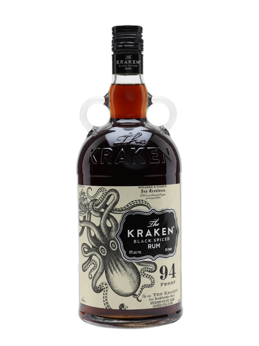 Kraken Black Spiced Rum '47' / Litre