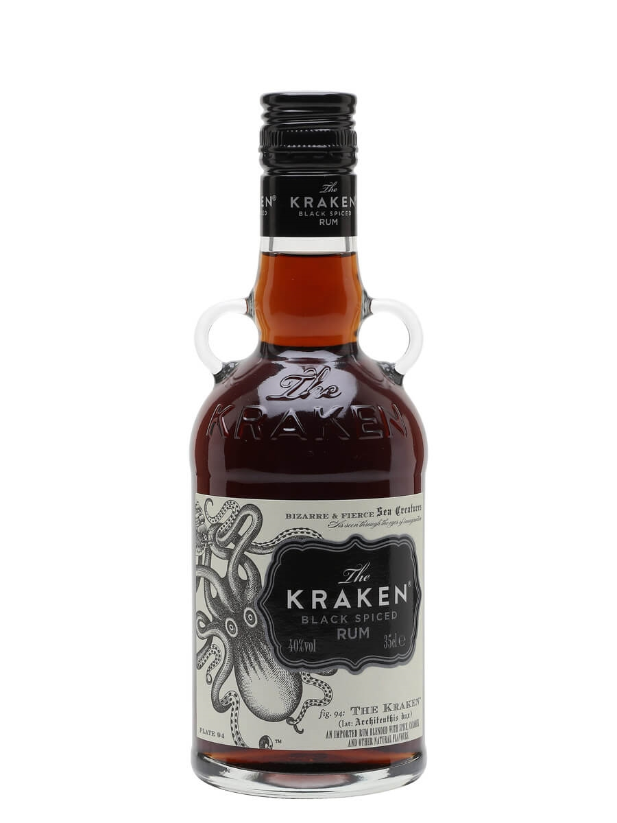 Kraken Black Spiced Rum / Half Bottle