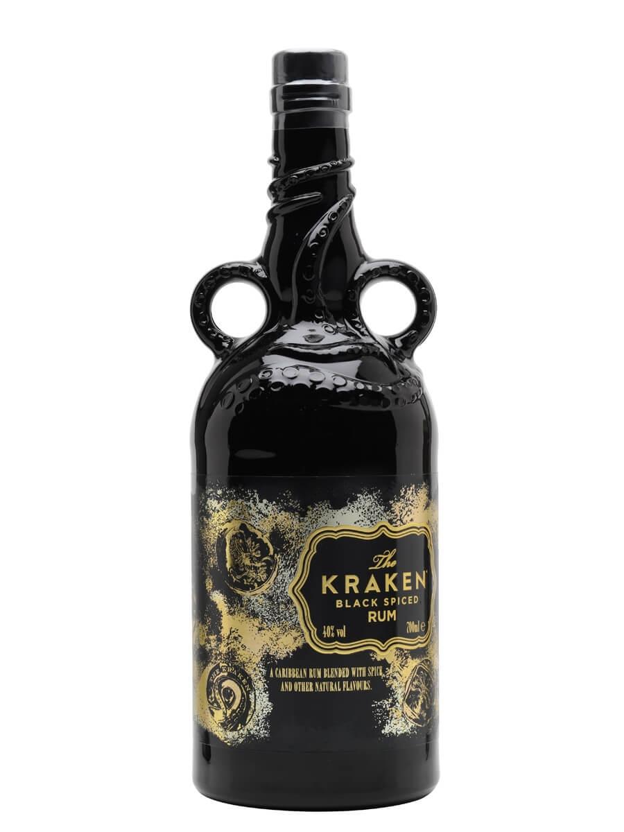 Kraken Black Spiced / Unknown Deep Bottle