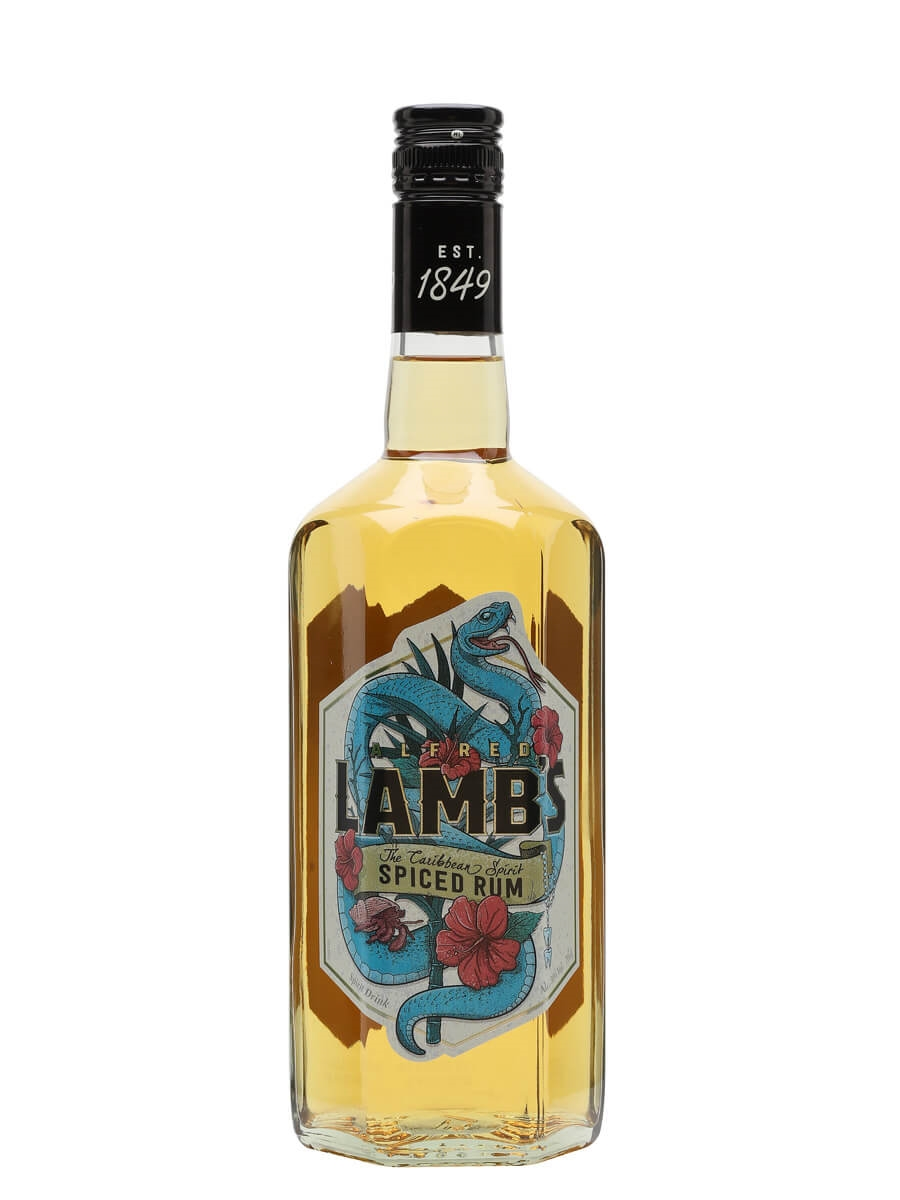 Lamb's Spiced Rum Spirit Drink : The Whisky Exchange