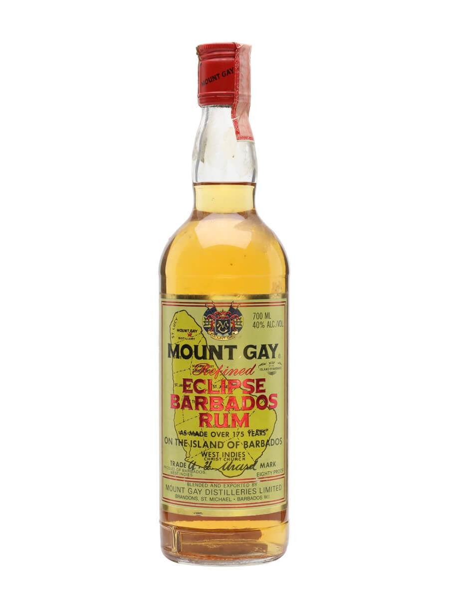 Mount Gay Eclipse Rum / Bot.1990s