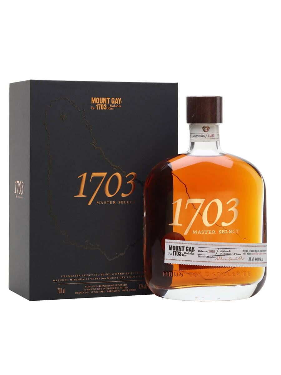 Mount Gay 1703 Master Select Rum / 2018 Edition