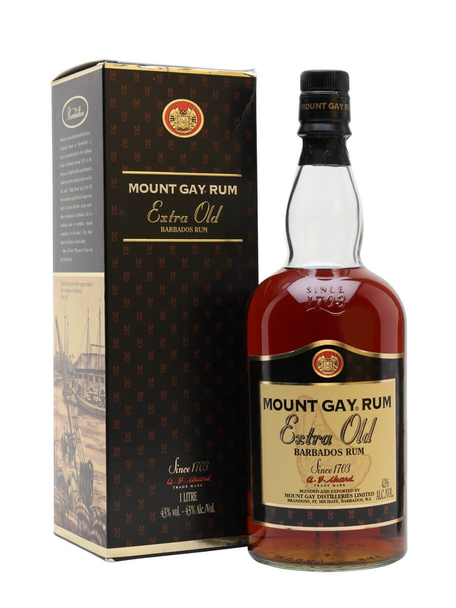 Mount Gay Extra Old Rum / Bot.2000s / Litre