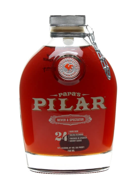 Papa's Pilar Blonde Rum Review - Bevvy