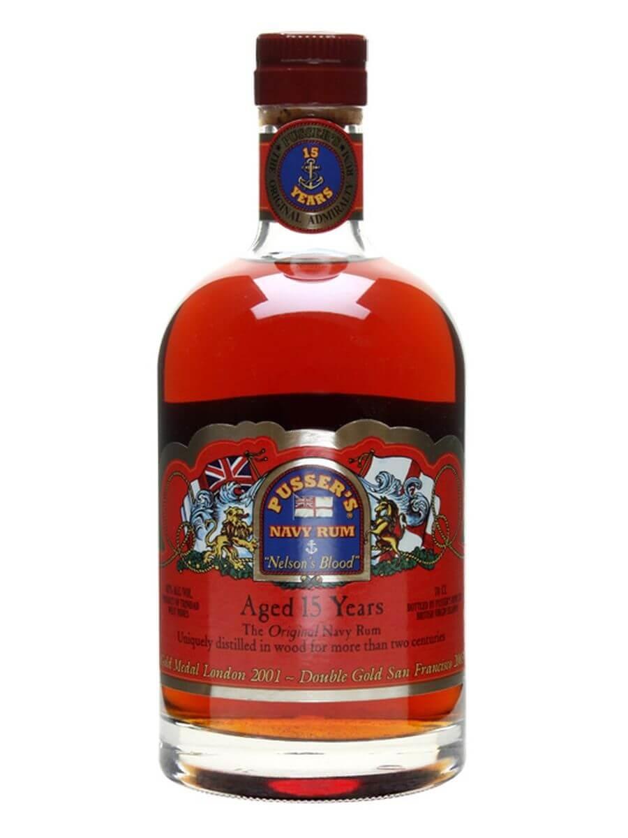 Pusser's Navy Rum / 15 Year Old