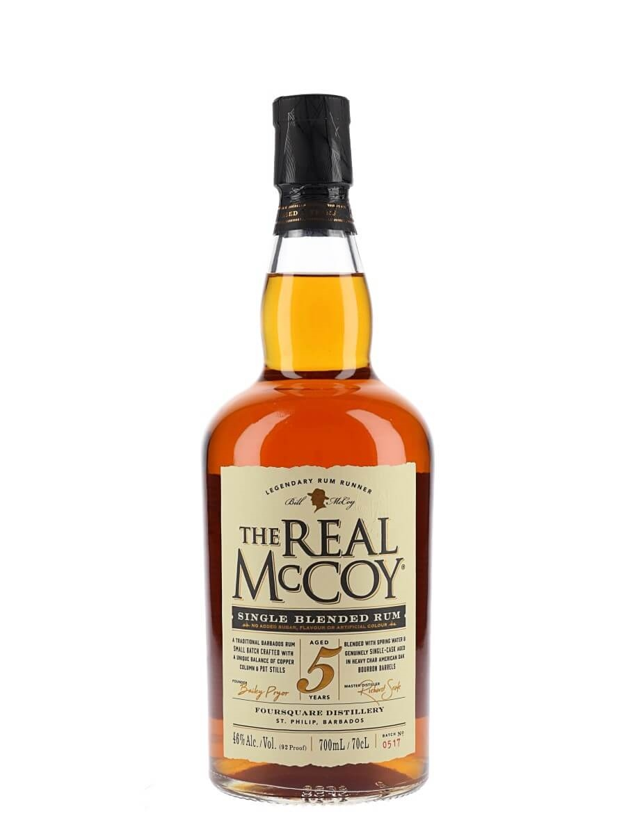 The Real McCoy Distiller's Proof / 5 Year Old