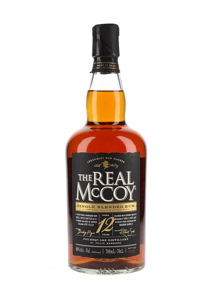 The Real McCoy 12 Year Old Rum / Distiller's Proof