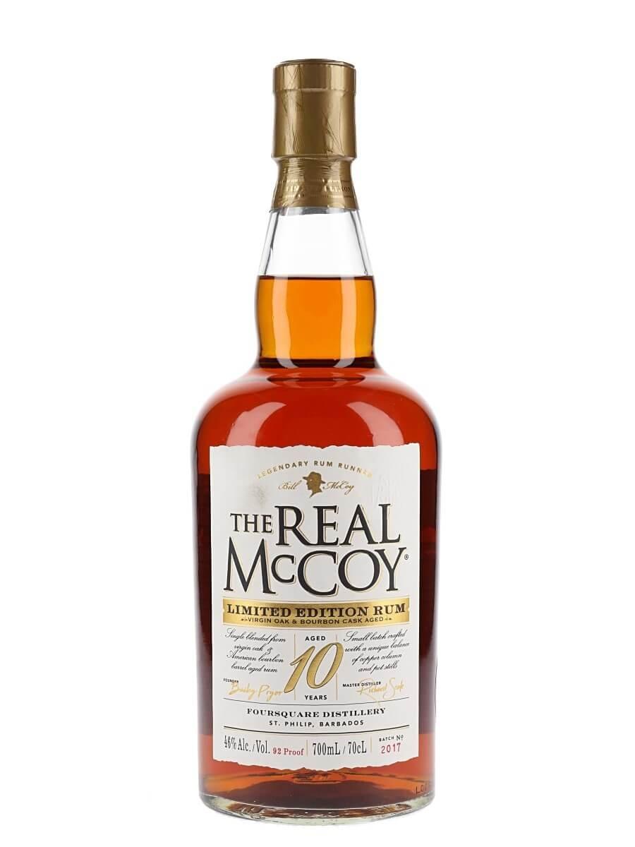 The Real McCoy 10 Year Old Rum / Virgin Oak