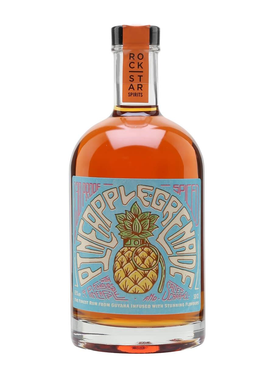 Pineapple Grenade Spiced Rum / Rock Star