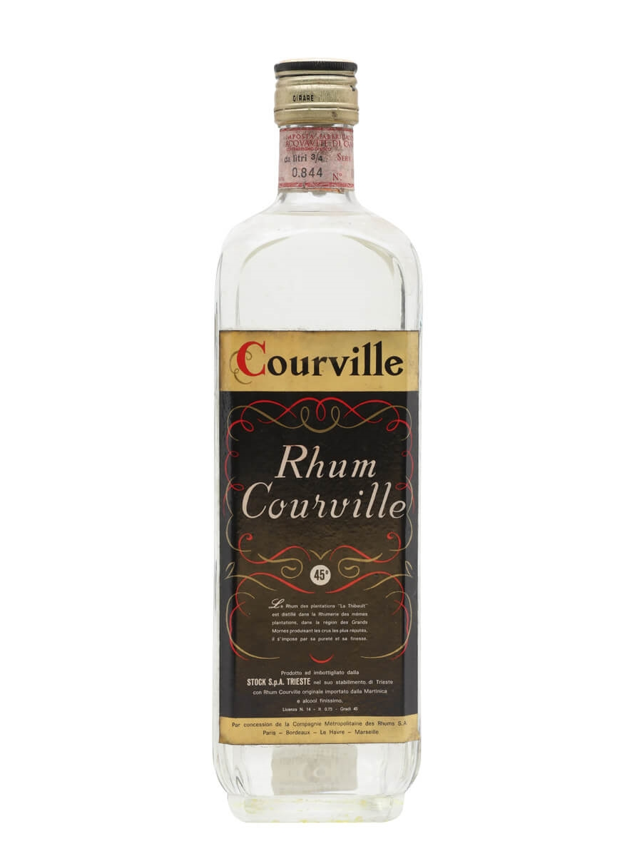 Courville Rum / La Thibault / Stock / Bot.1960s