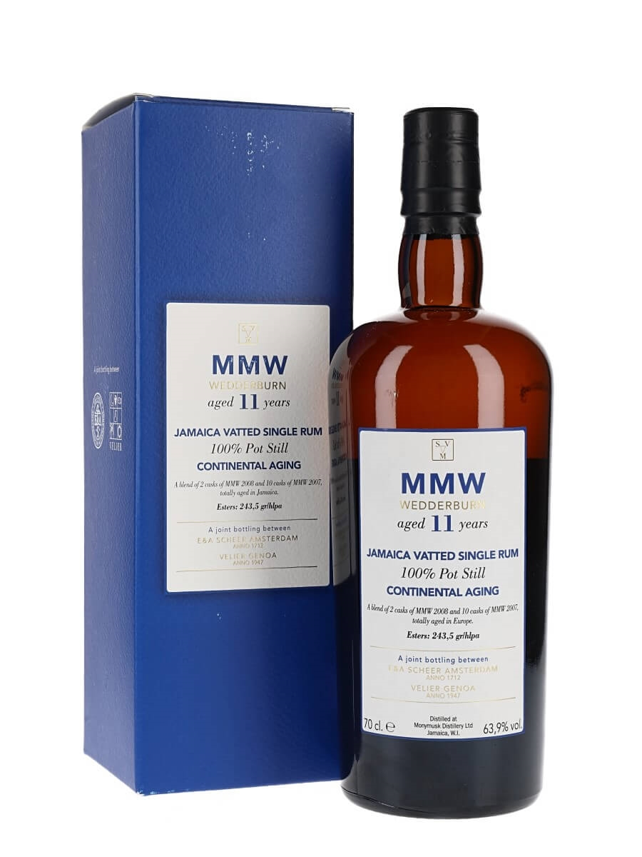 SVM 11 Ans MMW Blend Continental Ageing Wedderburn / Velier