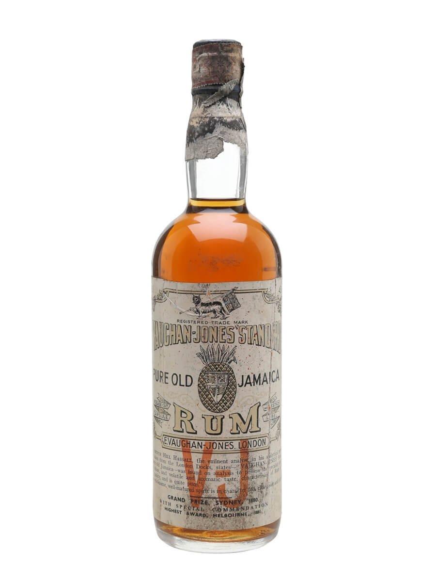 Vaughan Jones Pure Old Jamaica Rum / Bot.1960s