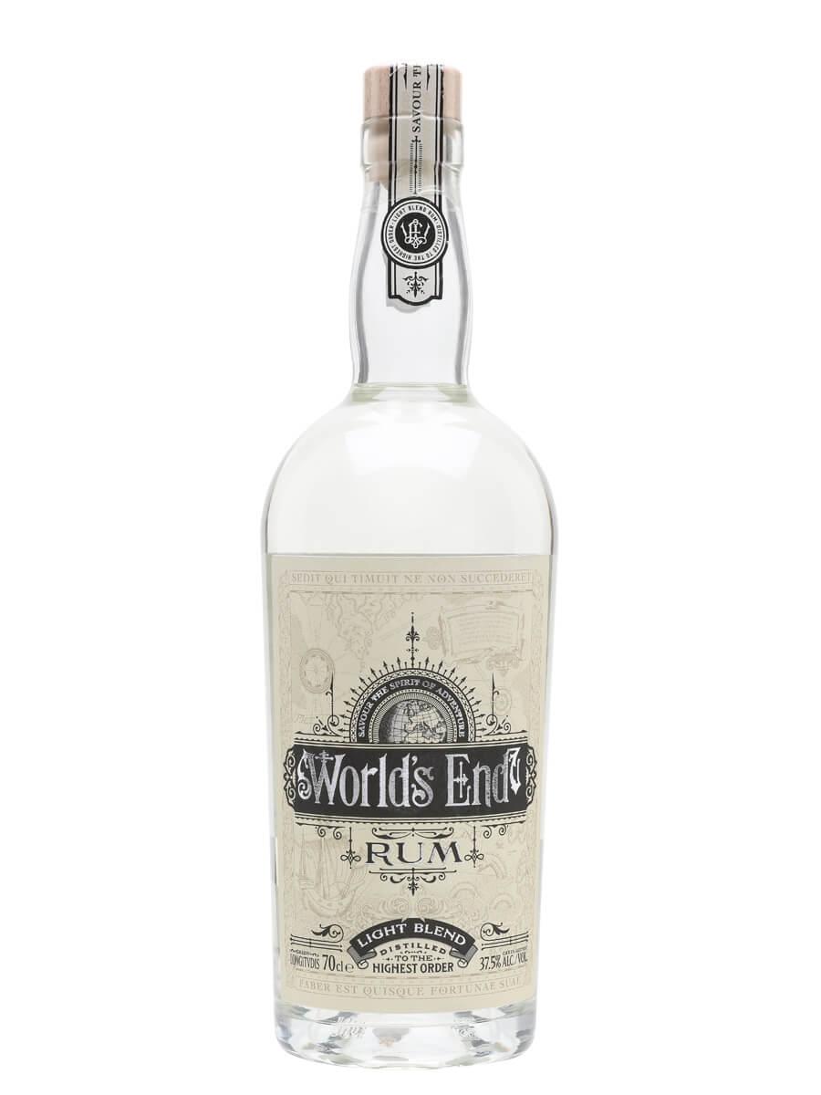 World's End Light Blend Rum
