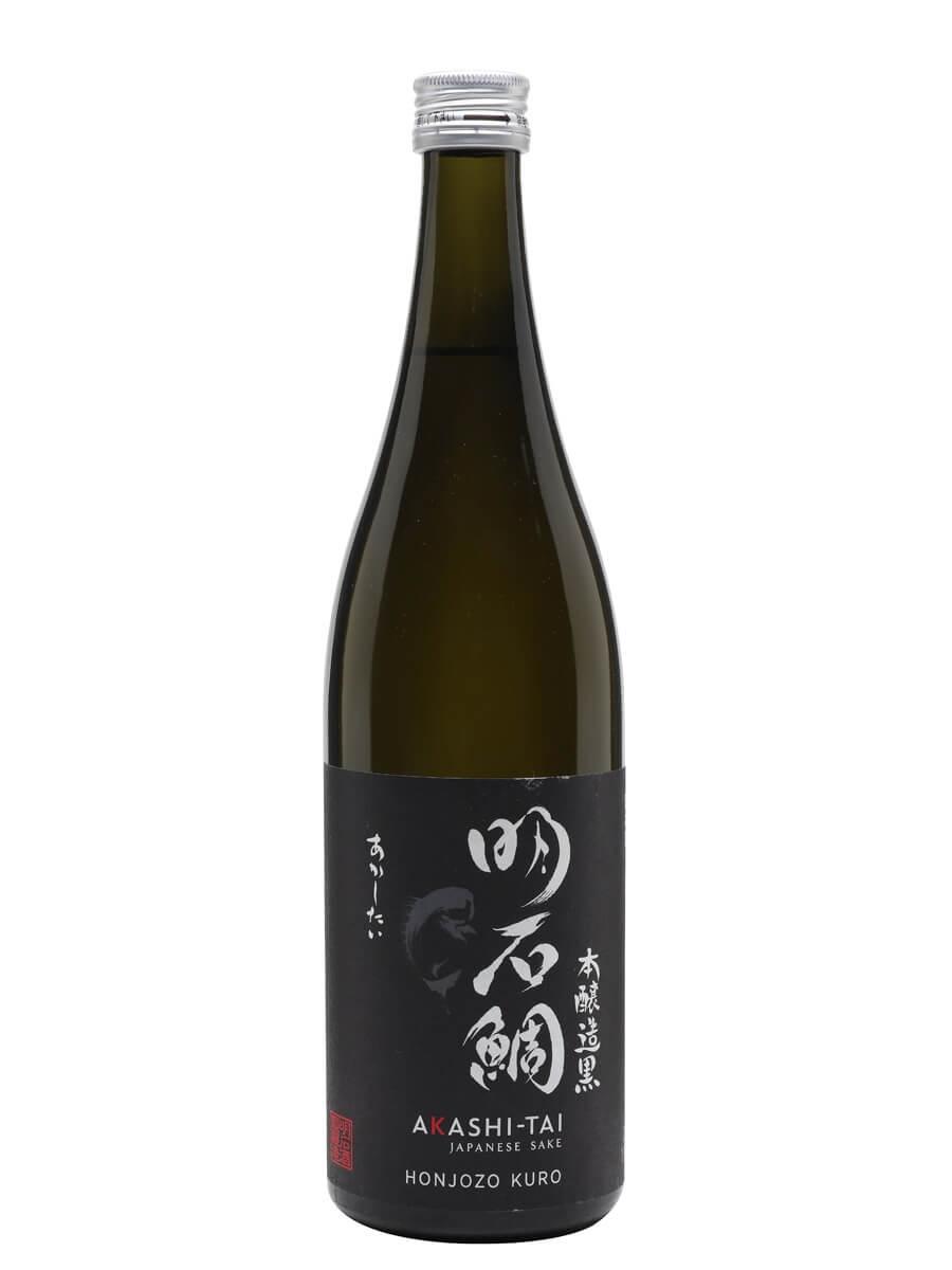 Akashi-Tai Honjozo Kuro Sake