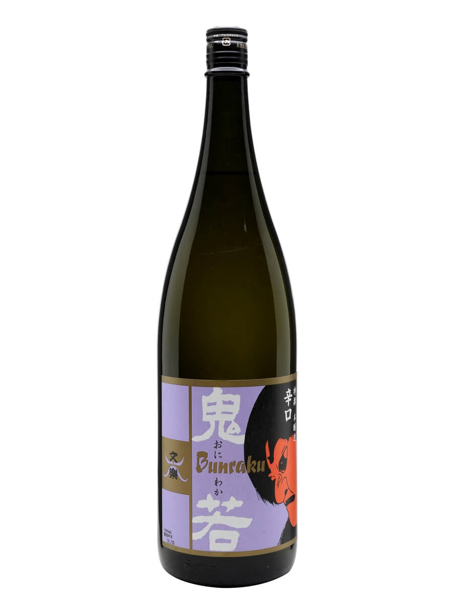 Bunraku Karakuchi Oniwaka Honjozo / Large Bottle