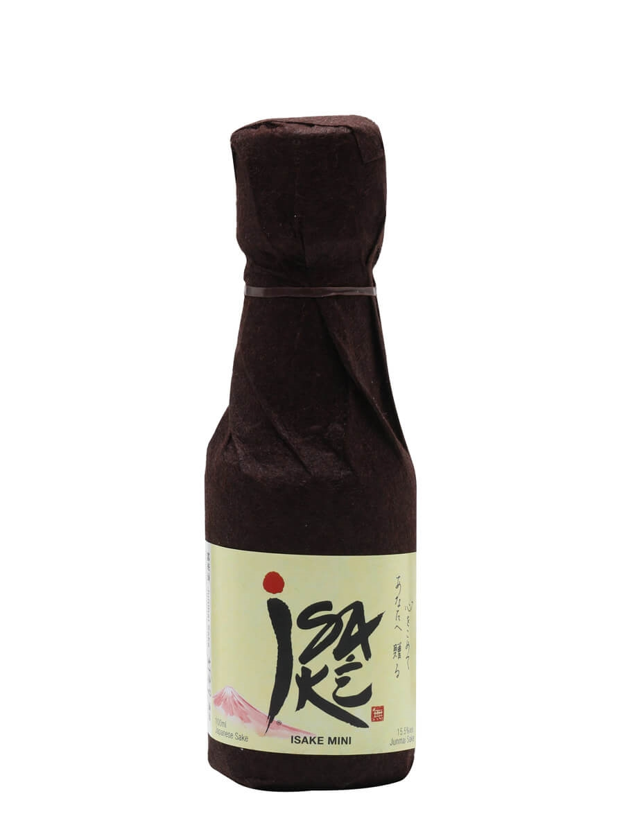Isake Junmai Sake / Small Bottle