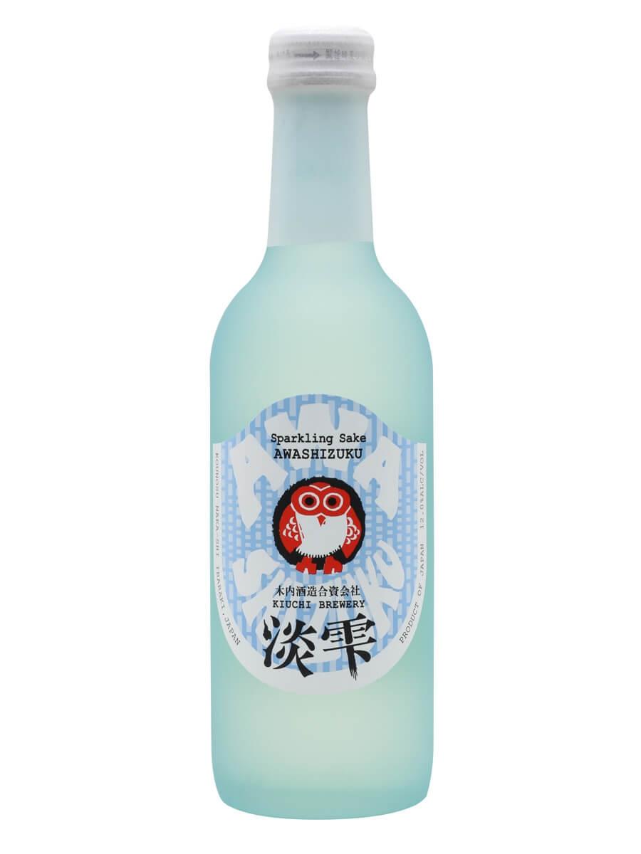 Awashizuku Sparkling Sake / Kiuchi Brewery