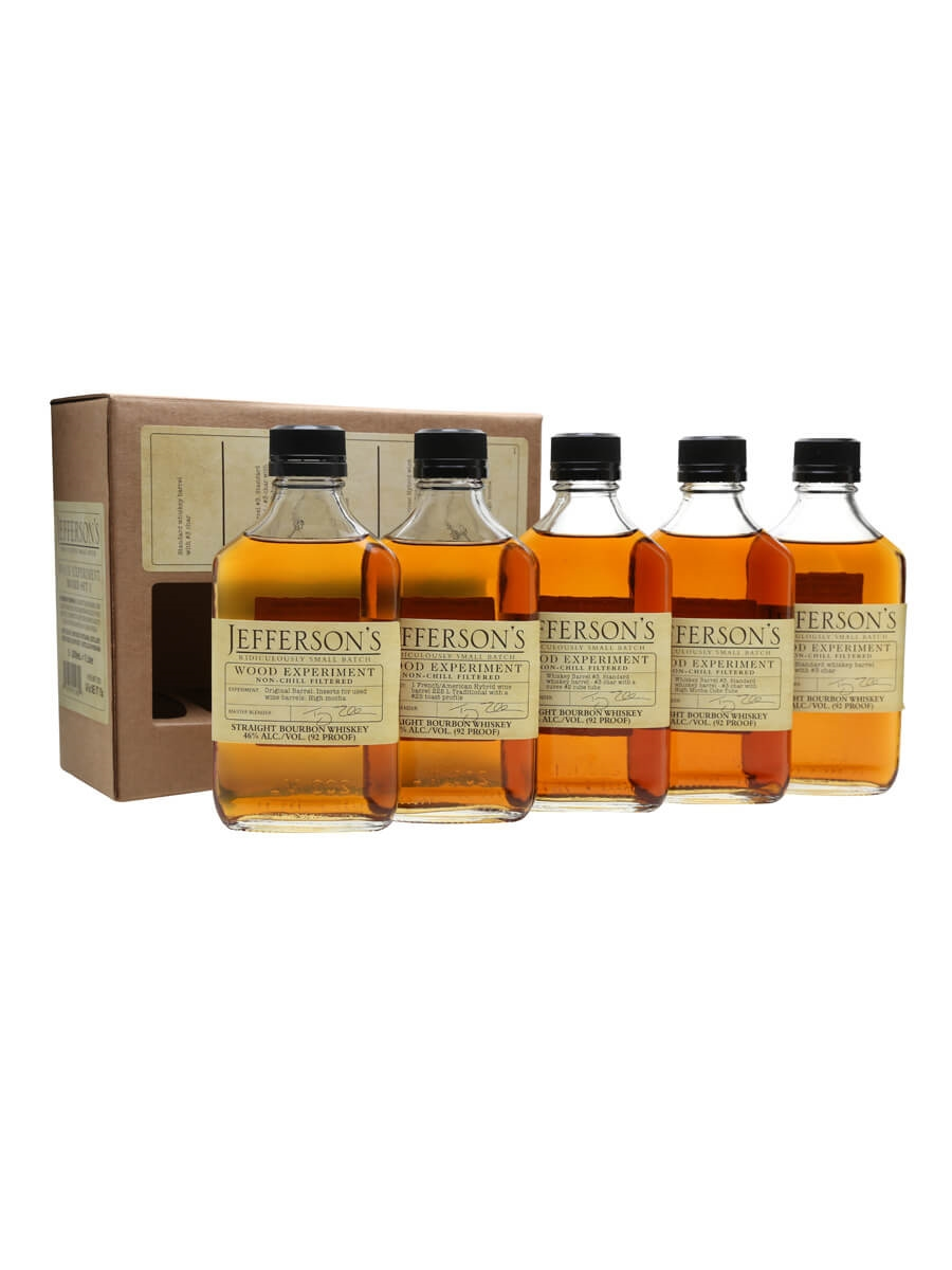 Jefferson's Wood Experiment Box Set #1 / 5 x 20cl