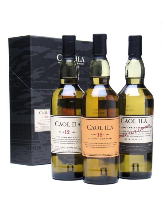 Caol Ila Collection / 3x20cl