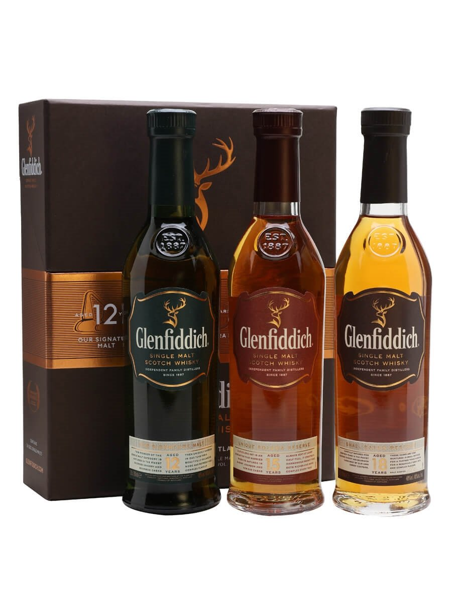 Glenfiddich Collection - 3x20cl Scotch Whisky : The Whisky Exchange