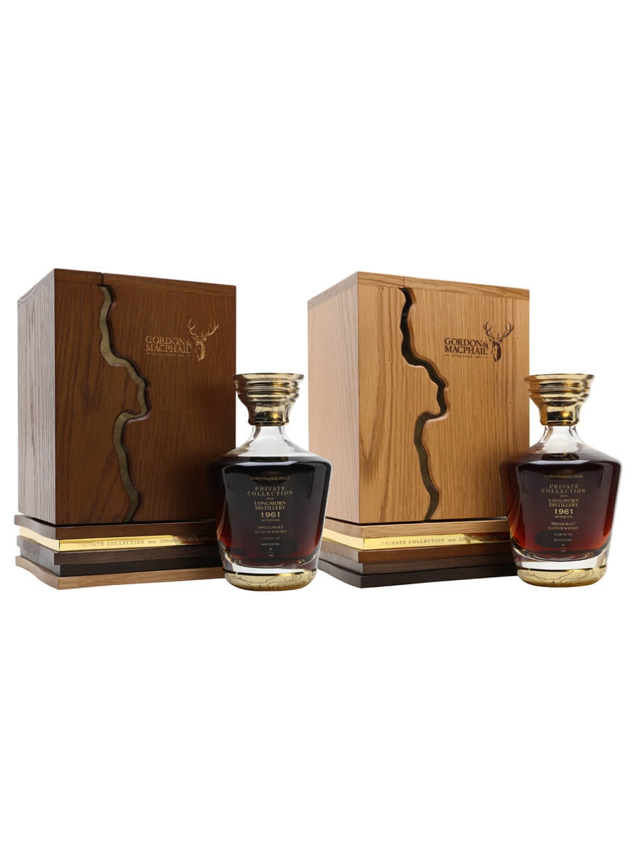 Longmorn 1961 / 57 Year Old /Private Collection 2 Bottle Set