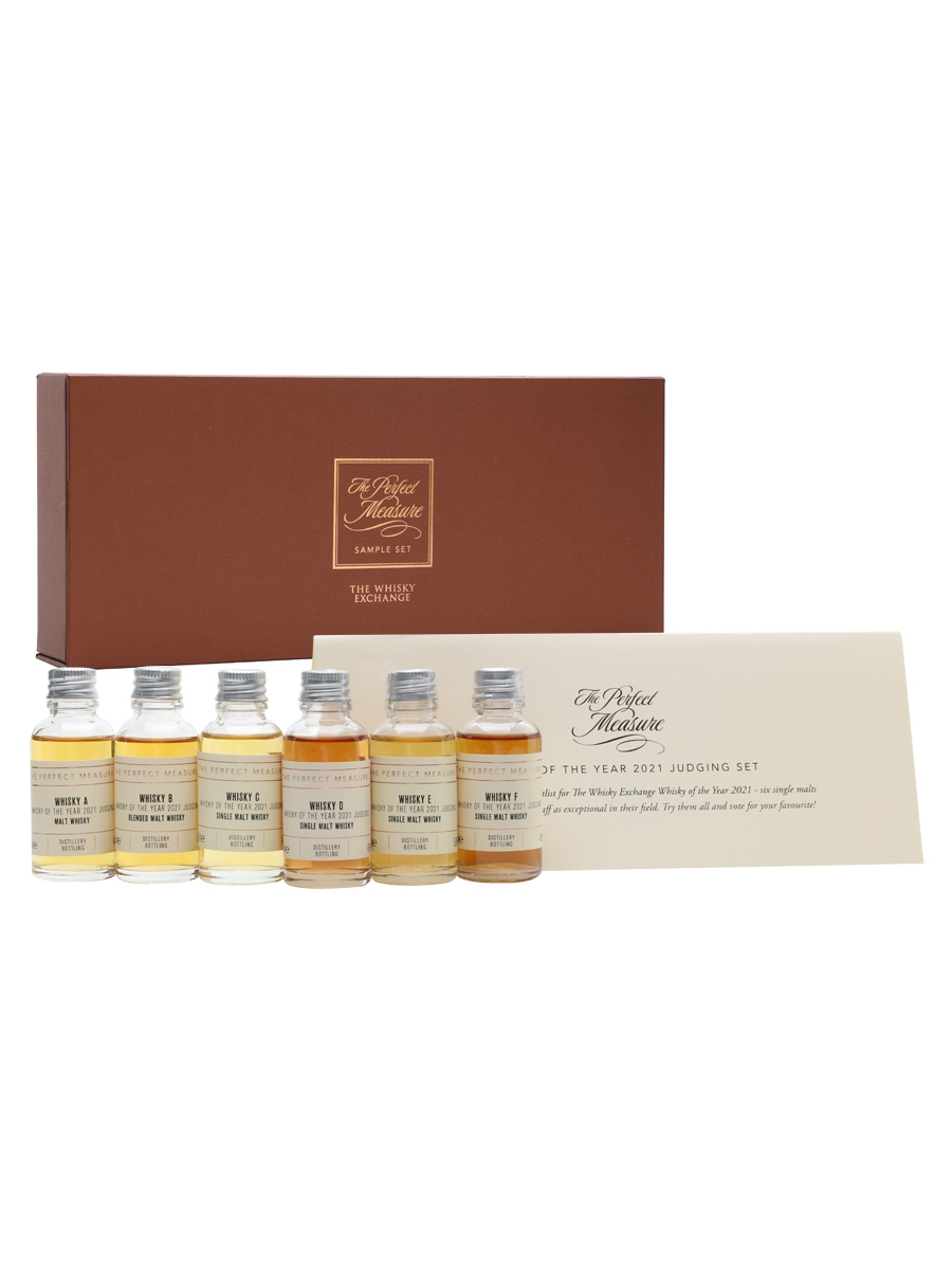 Whisky of the Year 2021 Judging Set / 6x3cl