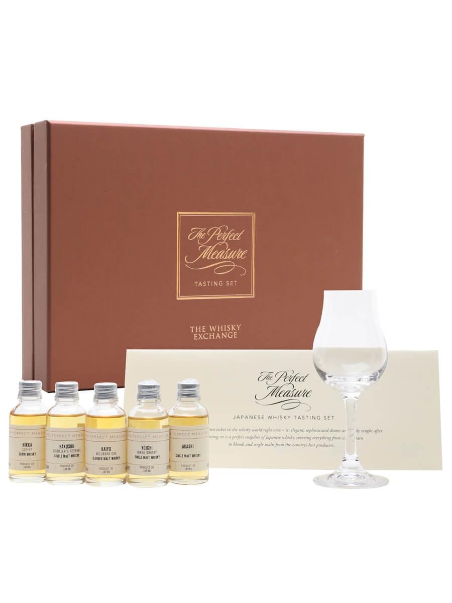 Japanese Whisky Tasting Set / 2021 Edition / 5x3cl