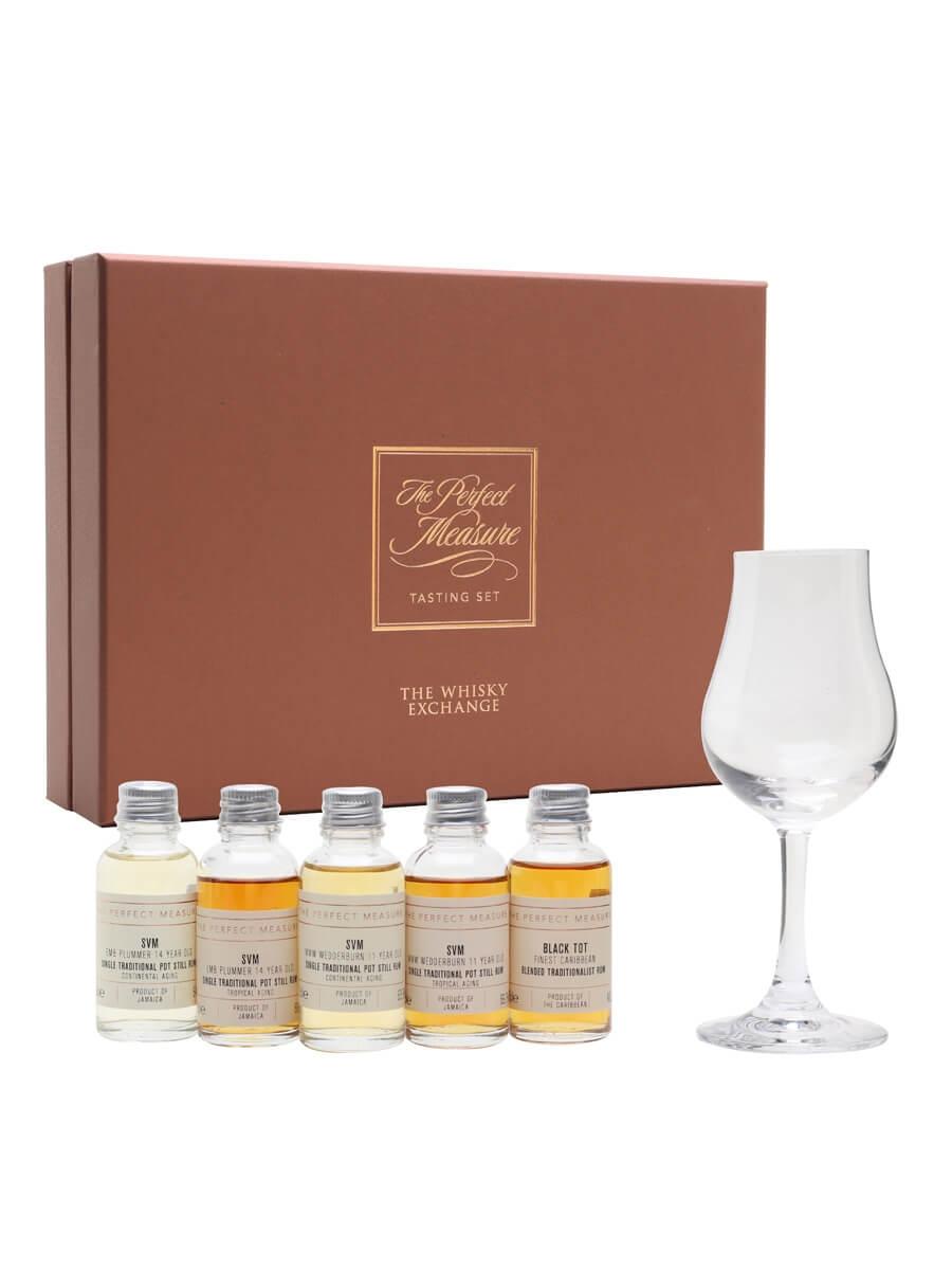 Tropical vs Continental Aging Rum Tasting Set / 24hr Rum Festival / 5x3cl