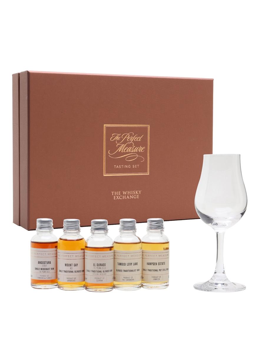 Four Pillars of Rum Tasting Set / 24hr Rum Festival / 5x3cl