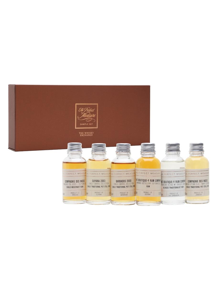 Independently Bottled Rum Tasting Set / 6x3cl