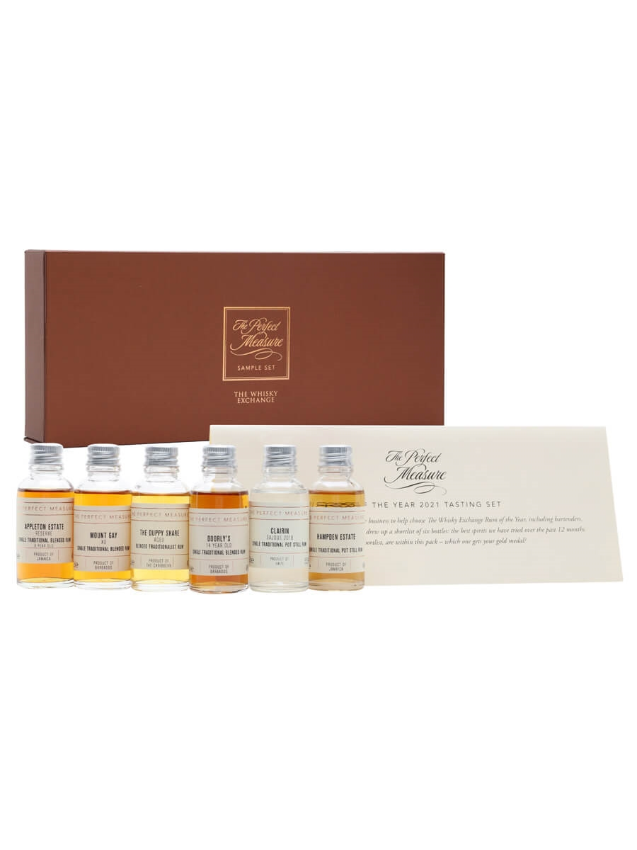 Rum Of The Year 2021 Tasting Set / 6x3cl
