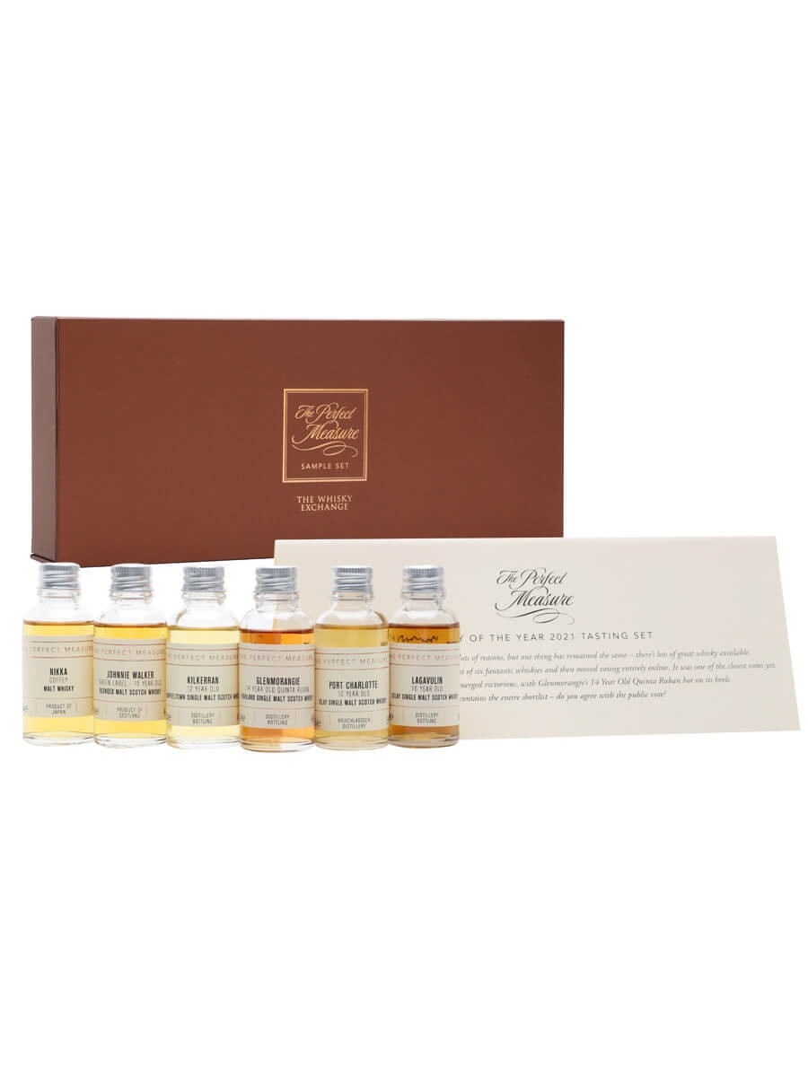 Whisky of the Year 2021 Tasting Set / 6x3cl