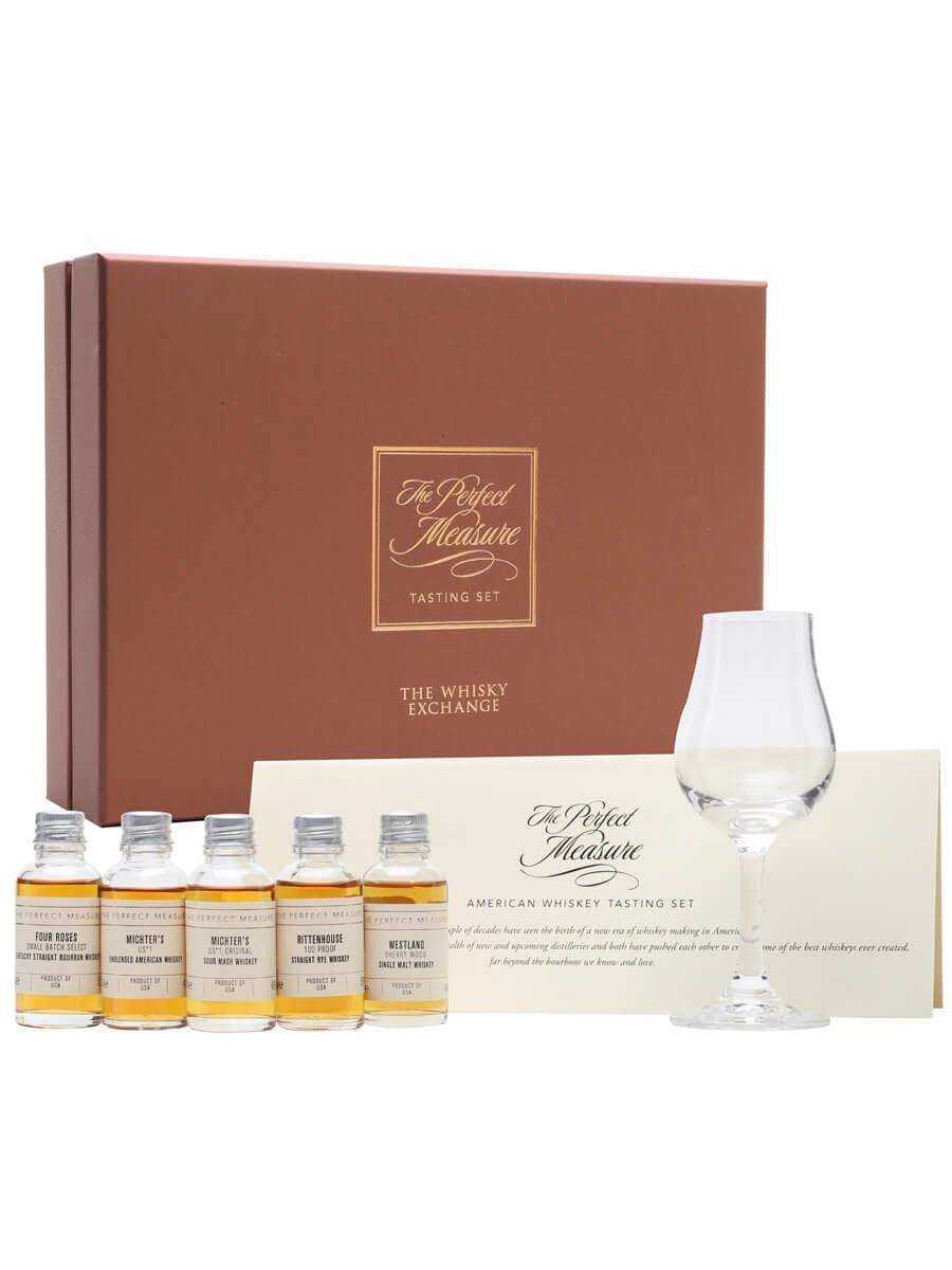 New American Whiskey Virtual Tasting Set / 5x3cl