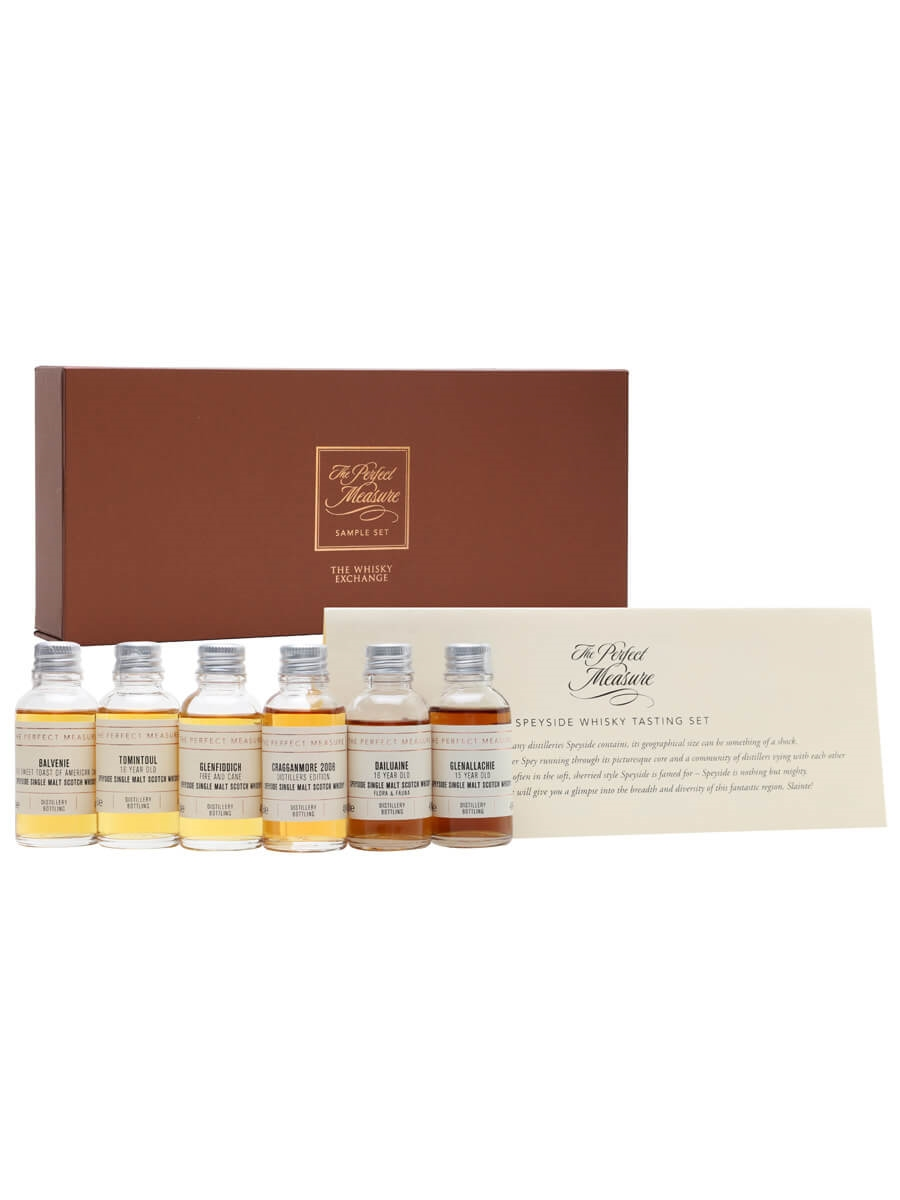 Speyside Whisky Tasting Set / 6x3cl