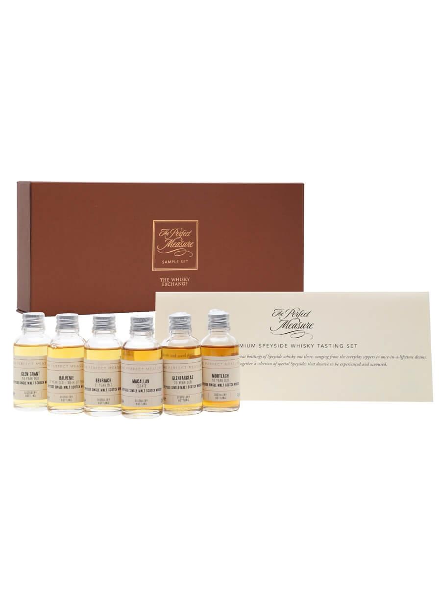 Premium Speyside Whisky Tasting Set / 6x3cl