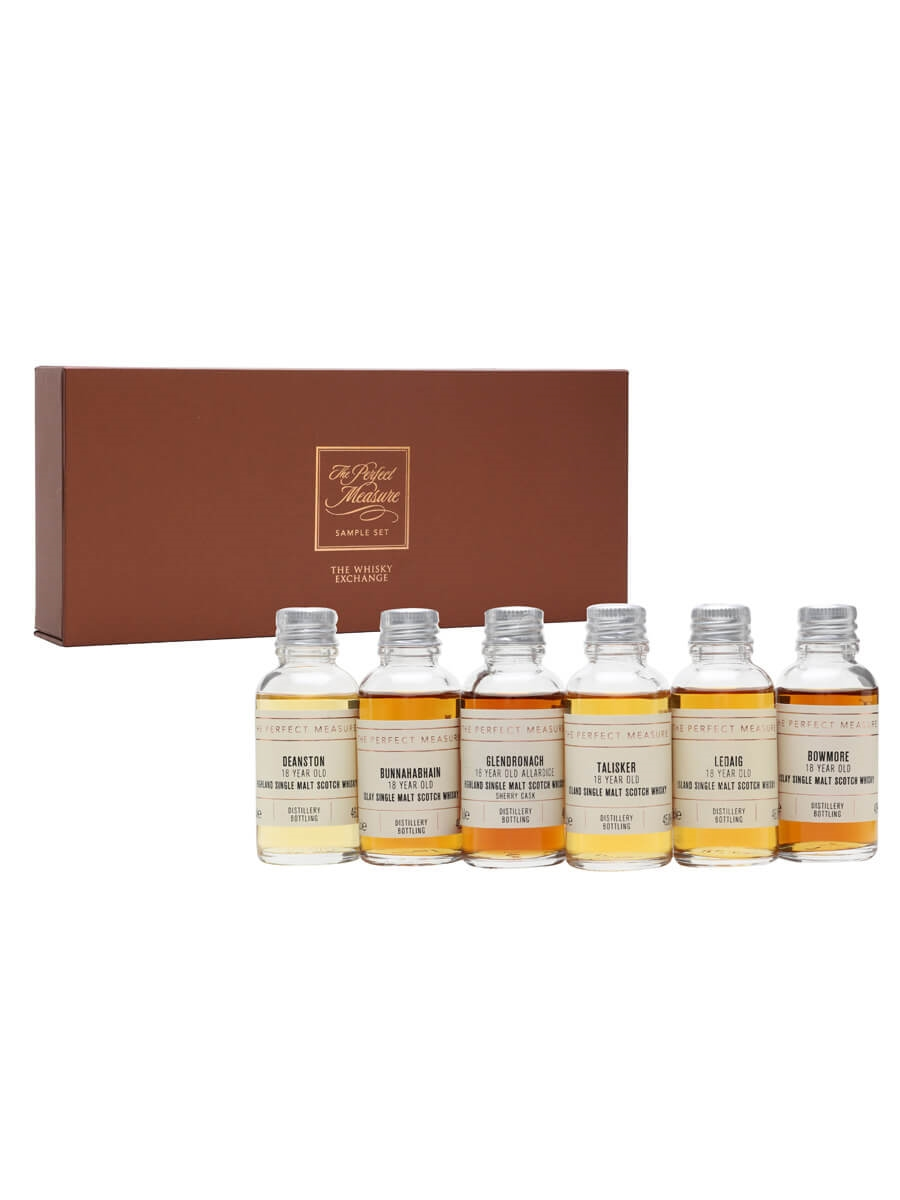 18 Year Old Whisky Tasting Set / 6x3cl