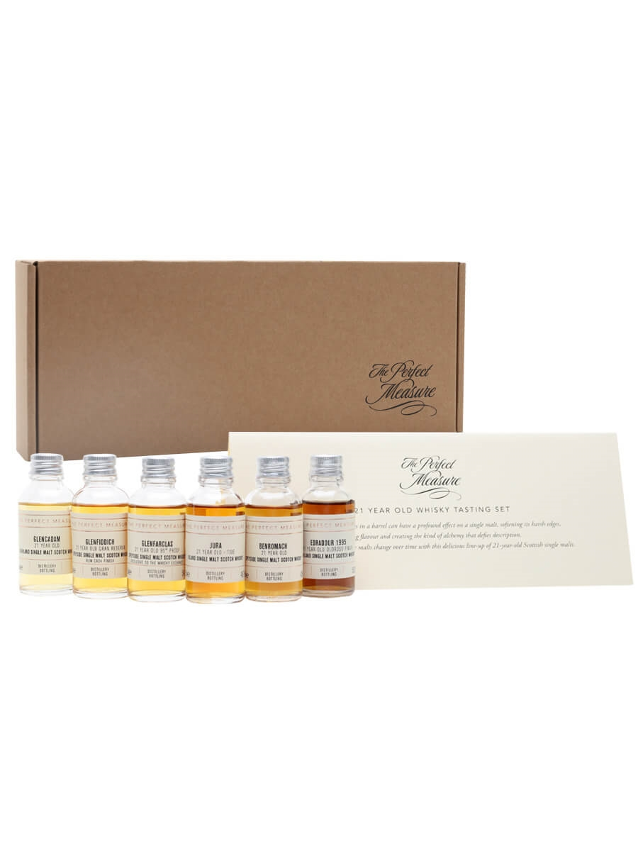 21 Year Old Whisky Tasting Set / 6x3cl