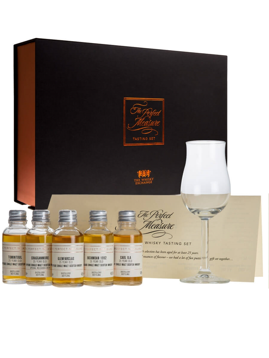 25 Year Old Whisky Gift Set 5x3cl The Exchange
