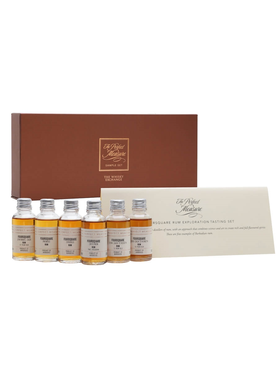 Foursquare Tasting Set / Limited Bottlings / 2020 Edition / 6x3cl