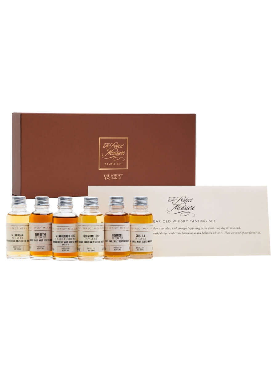 25 Year Old Tasting Set / 6x3cl