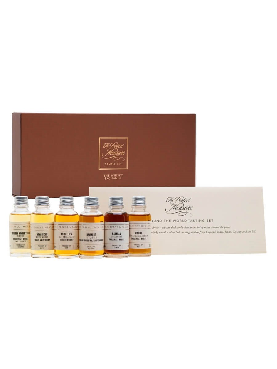 World Whisky: New Flavour Dimension Tasting Set / 6x3cl