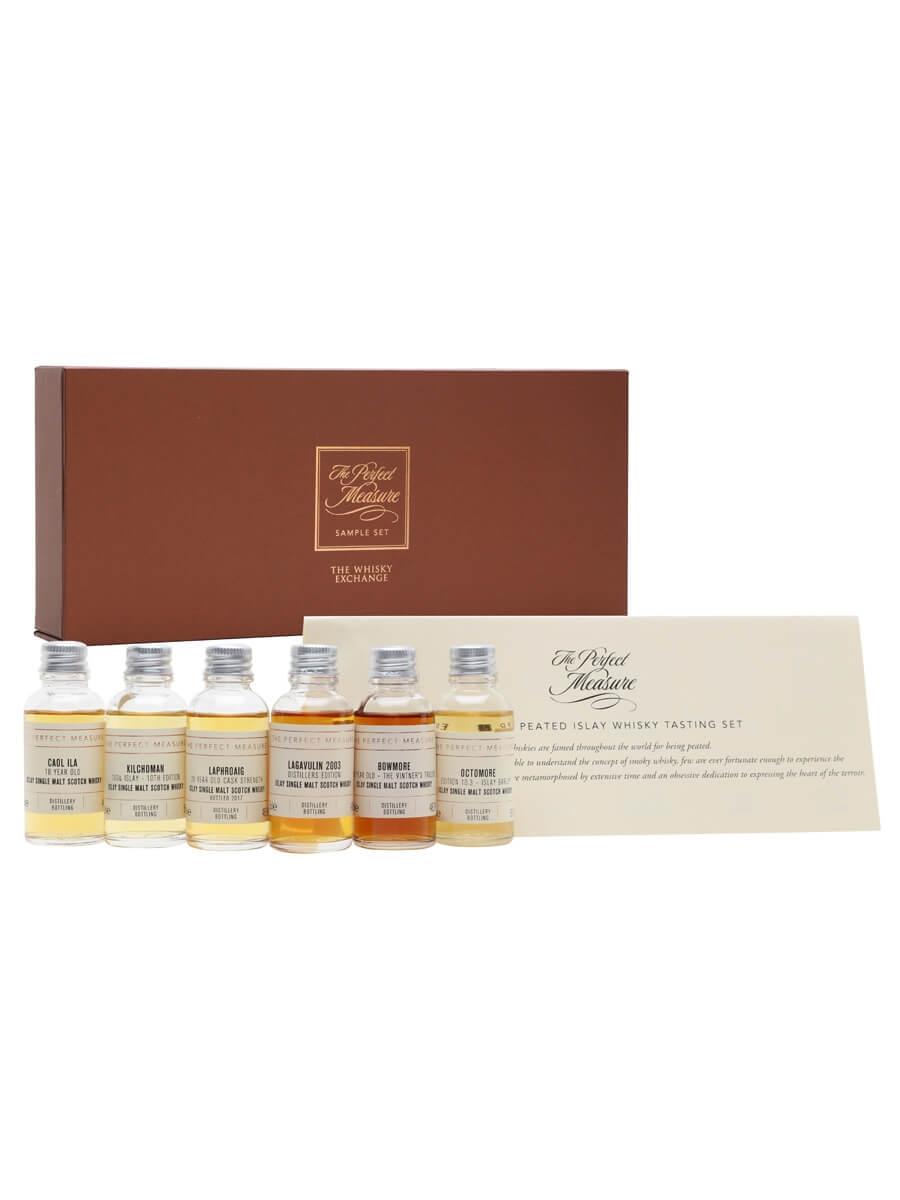 Premium Peated Islay Whisky Tasting Set / 6x3cl