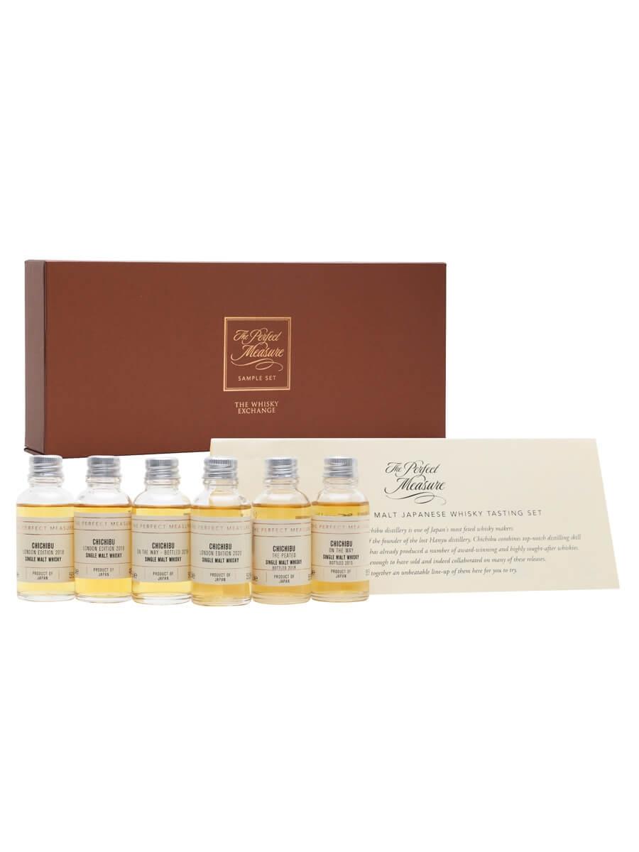 Chichibu Single Malt Japanese Whisky Tasting Set / 6x3cl