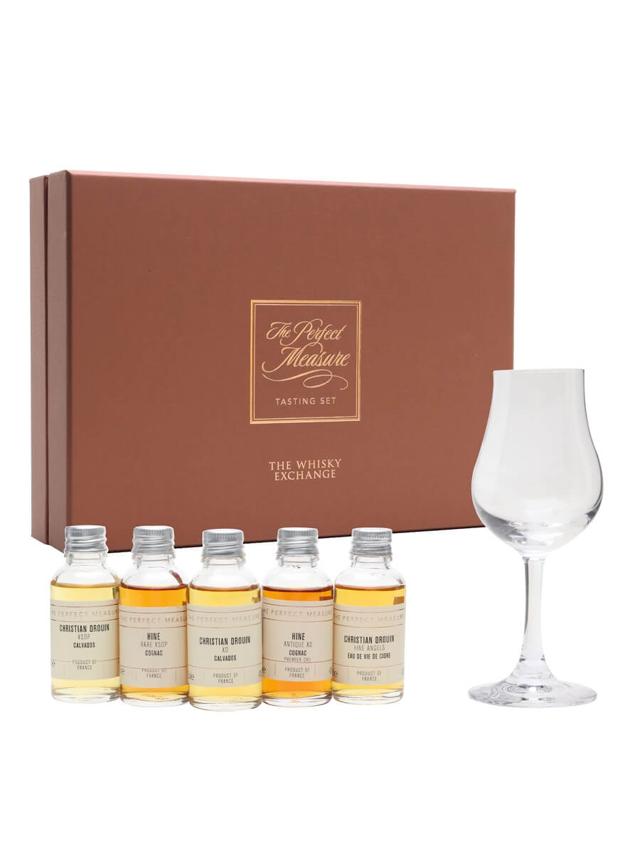 Hine & Drouin: Cognac vs Calvados Tasting Set / 5x3cl