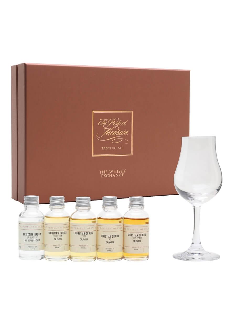 Introduction to Drouin Calvados Tasting Set / 5x3cl