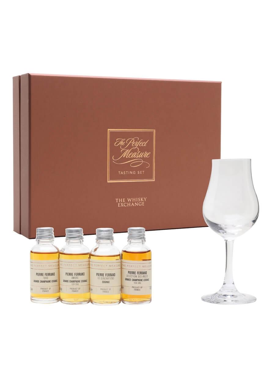 Pierre Ferrand Cognac Tasting Set / 4x3cl
