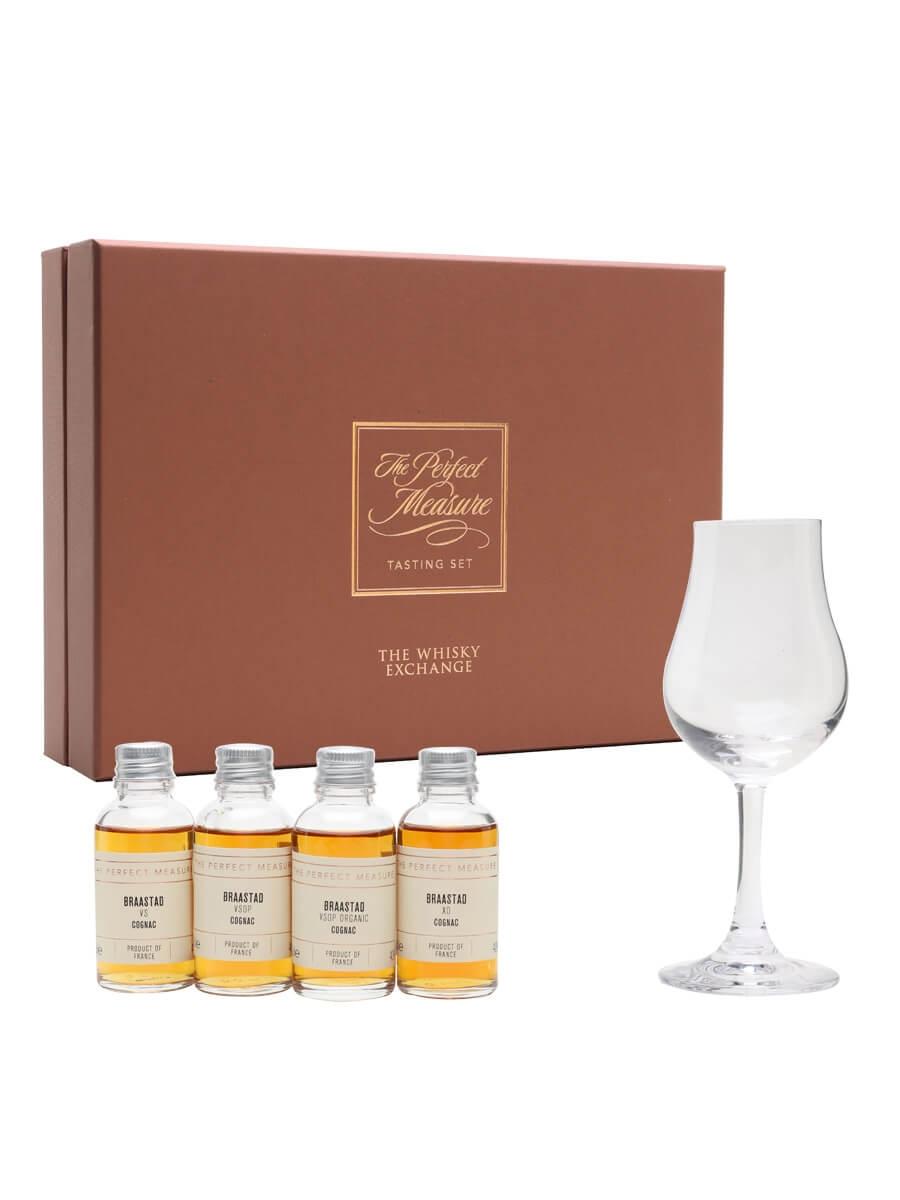 Braastad Cognac Tasting Set / 4x3cl